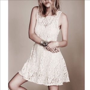Free People Miles Of Lace Dress Size M